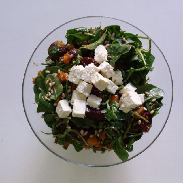 Pumpkin Pesto Salad