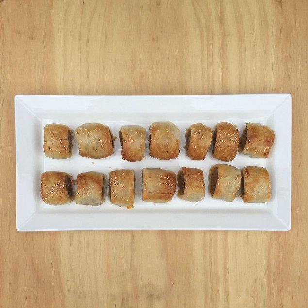 Mrs P's Famous Sausage Rolls