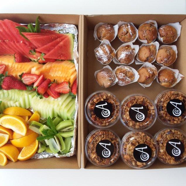 Early Starter Breakfast Selection